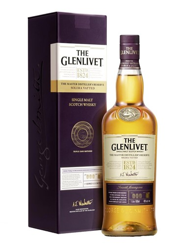 Glenlivet Master Distillers Reserve Solera Vatted -  Гленливет Мастерс Дистиллери Резерв Солера Воттед