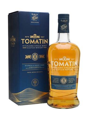 Tomatin 8 years old Bourbon & Sherry Cask - Томатин 8 летней выдержки