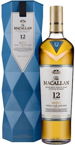 Macallan 12 years old Triple Cask Matured Limited Edition - Макаллан 12 летней выдержки Трипл Каск