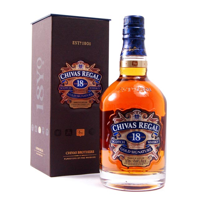 Chivas Regal 18 years old - Чивас Регал 18 летней выдержки