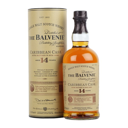 Balvenie 14 years old Caribbean Cask - Балвени 14 летней выдержки Кариббеан Каск