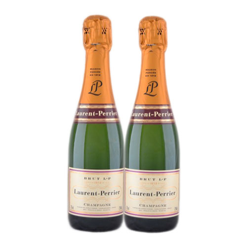 Laurent-Perrier Brut x2 demi-bottle - Лоран-Перье Брют 2 x 375мл