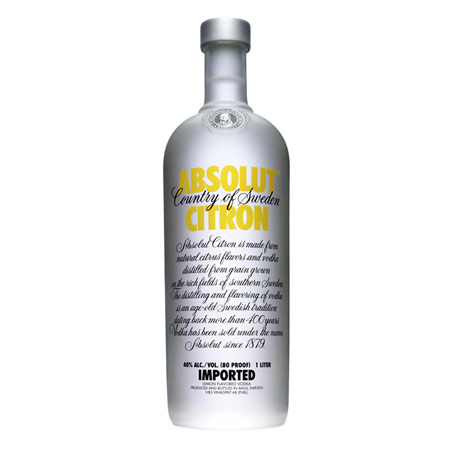 Absolut Citron - Абсолют Лимон