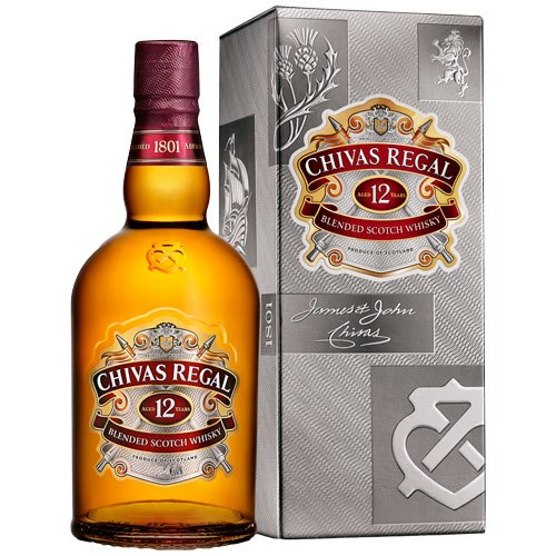 Chivas Regal 12 years old - Чивас Регал 12 летней выдержки